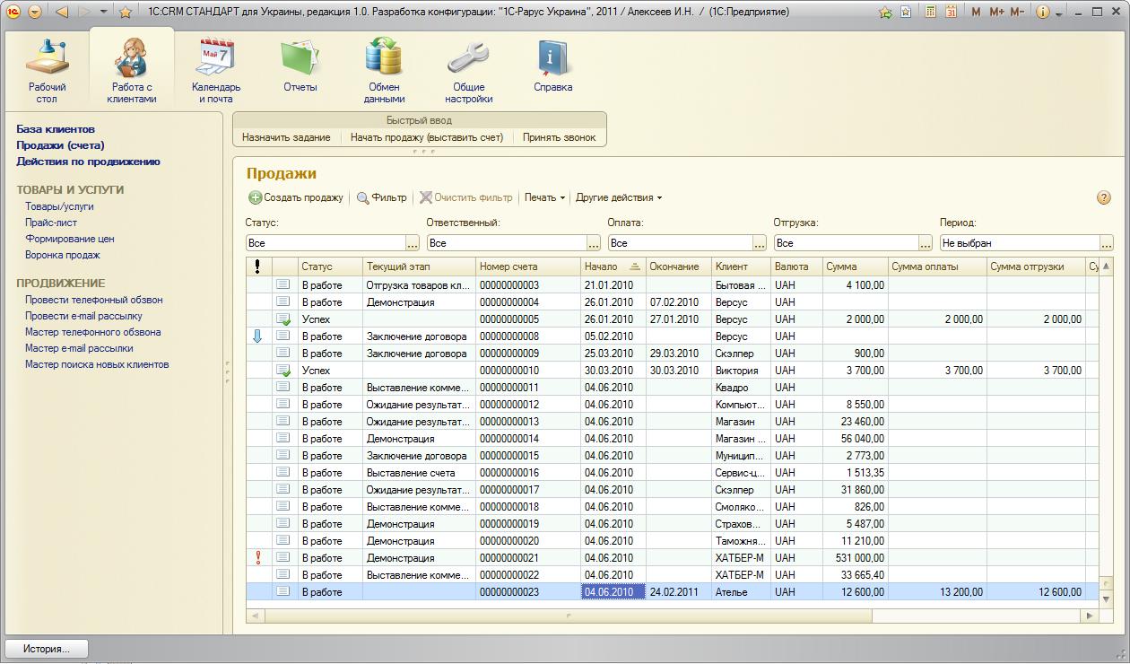 Программа 1с:управление небольшой фирмой 8 разработана для торговых, производственных и сервисных компаний, в которых работают от 1 до 10 пользователей